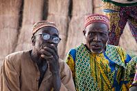 Wise men in Afataranga Benin Africa
