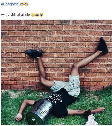 See more pictures of people doing the #DeadPose