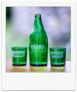 Karma Effect Upcycled Carafe and Glasses via Novica