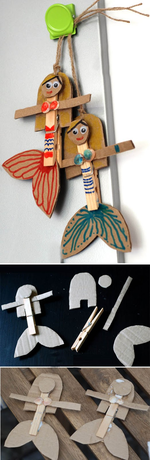 Yumurta Kartonundan Minyatür Deniz Canlısı Yapımı