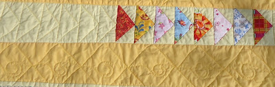 The quilted strip and border