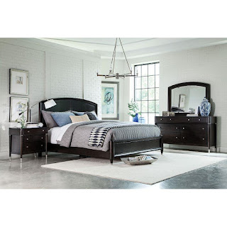 soothing transitional style bedroom