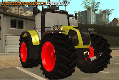 GTA SA - Tractor CLAAS Axion 850