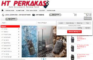 Buat Website Toko Baju Online