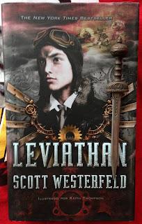 Portada del libro Leviathan, de Scott Westerfeld