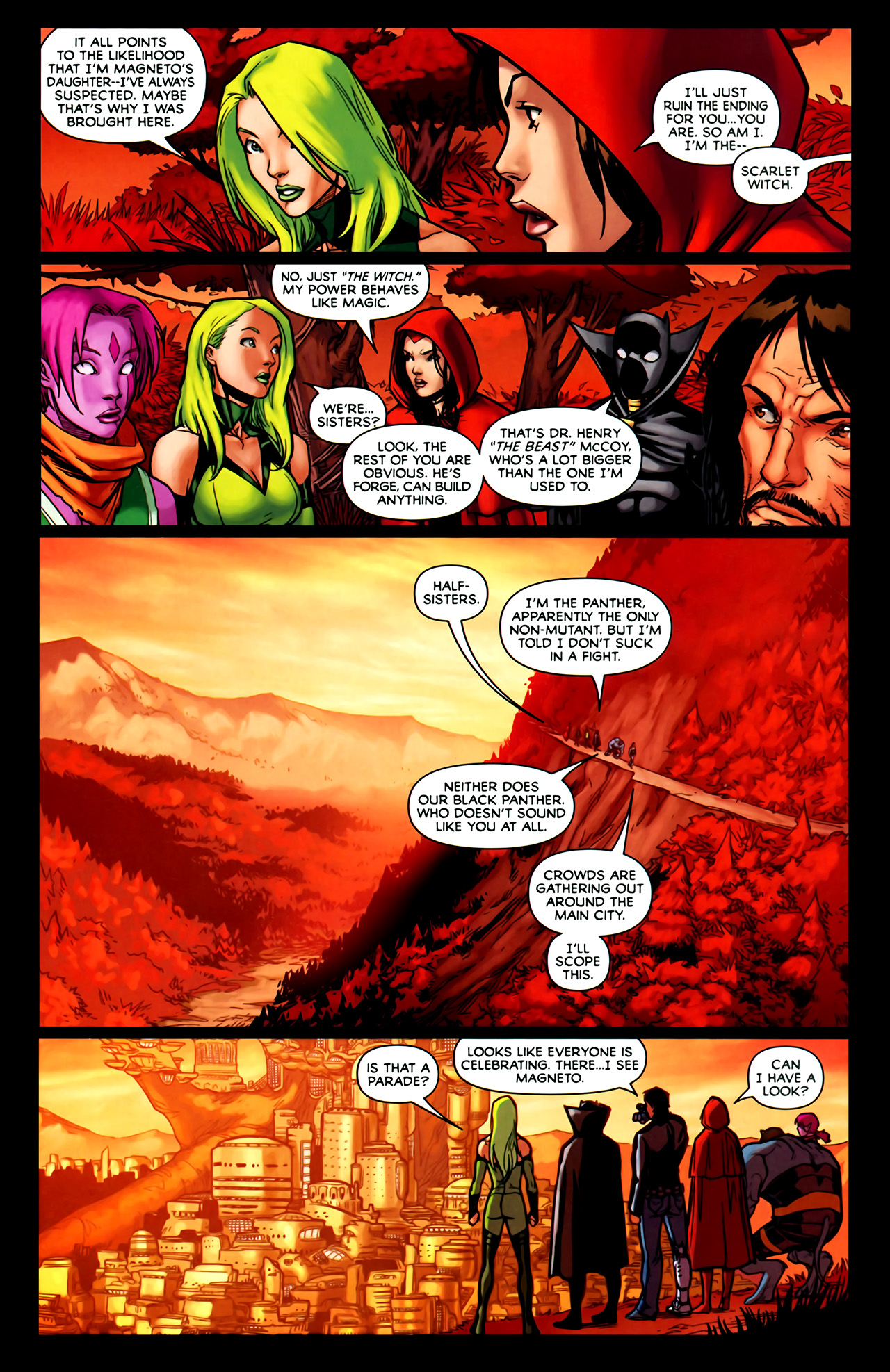 Read online Exiles (2009) comic -  Issue #1 - 23