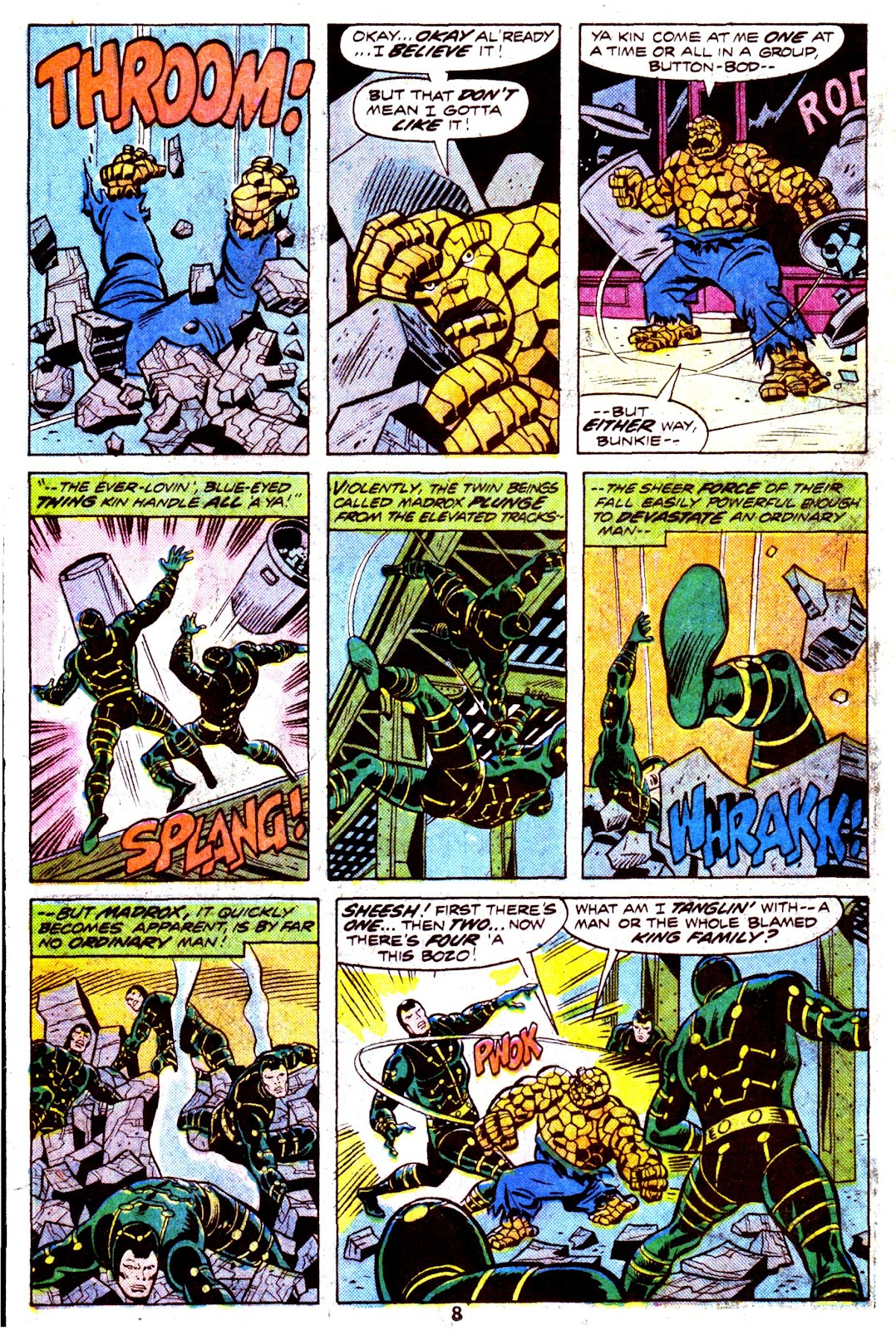 Giant-Size Fantastic Four issue 4 - Page 10