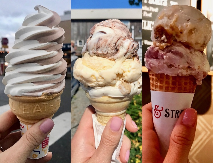 Best Ice Cream in Washington, Kapaw's Isekreme, Salt And Straw Ice Cream, Ivars Soft Serve