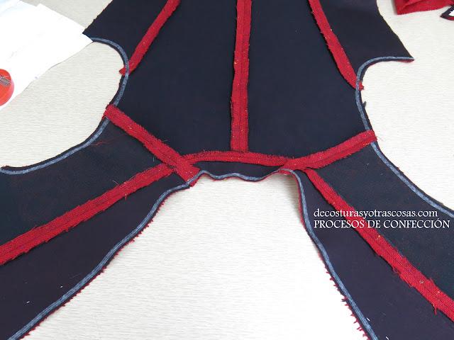 como entretelar una chaqueta antes de coser