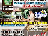 Desain Brosur Sosialisasi SMK Yasmida Ambarawa