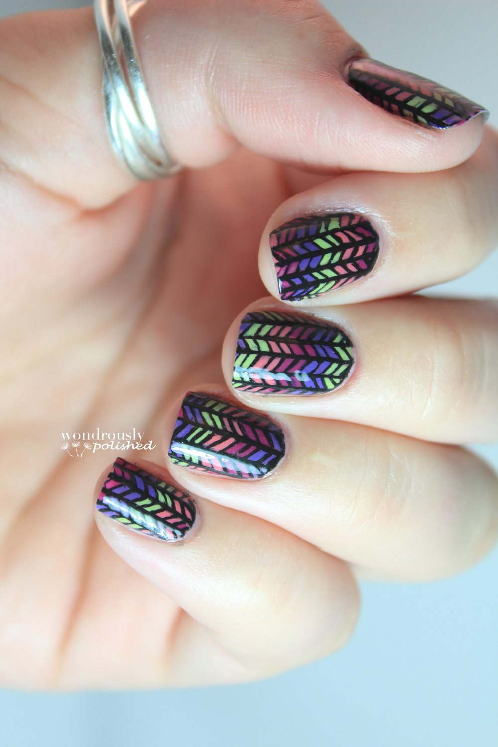 Wondrously Polished February Nail Art Challenge: Guest Post: Lindsey From Wondrously Polished