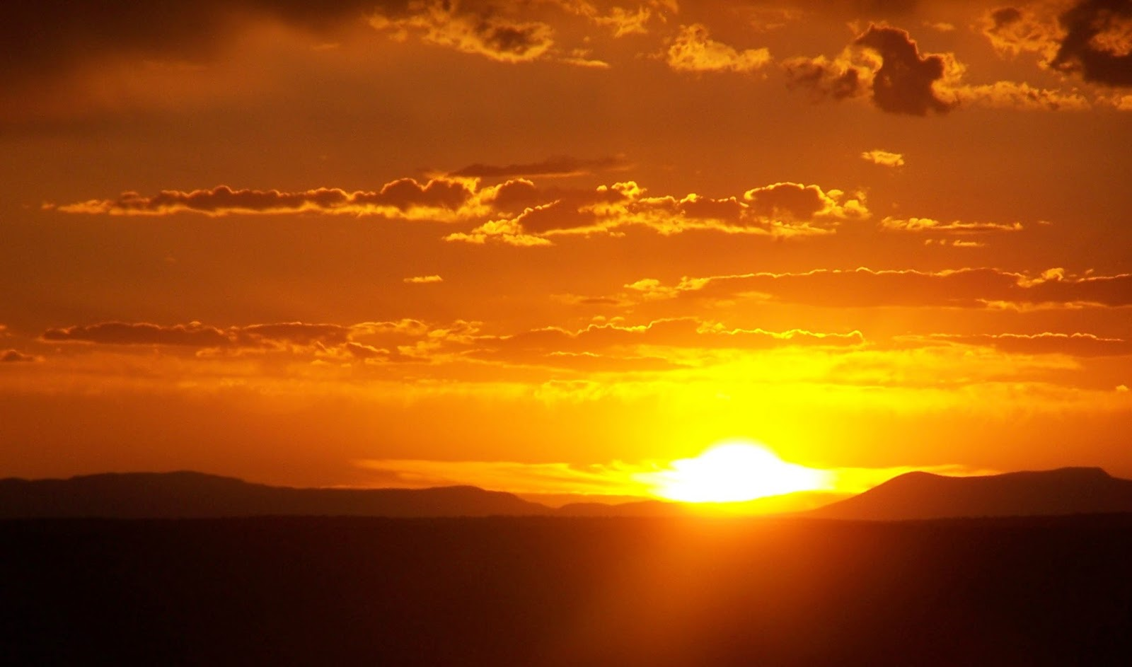 ...Just Visiting...: Sunrise Sunset