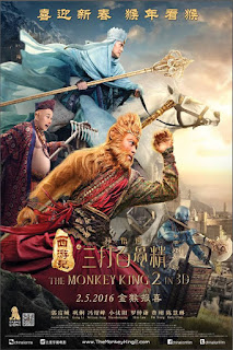 Image Poster: The Monkey King 2 (2016) BluRay 1080p Free Movie Online