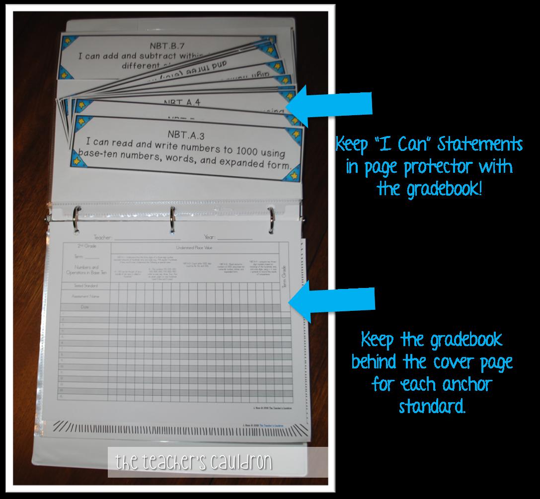 Organize Your Common Core Standards!