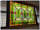 Frank Lloyd Wright Stained GLASS WINDOW Designs