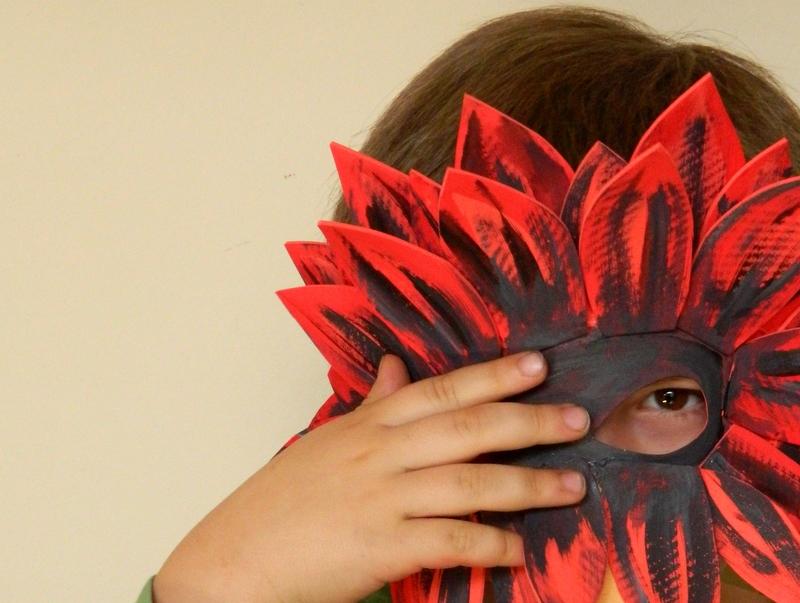 La máscara más fácil del mundo.