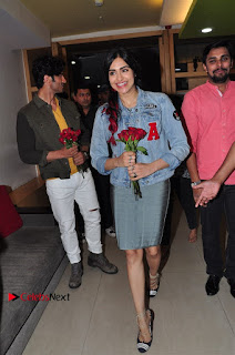 Vidyut Jamwal Adah Sharma Commando 2 Movie Team at Radio Mirchi 95  0013.jpg