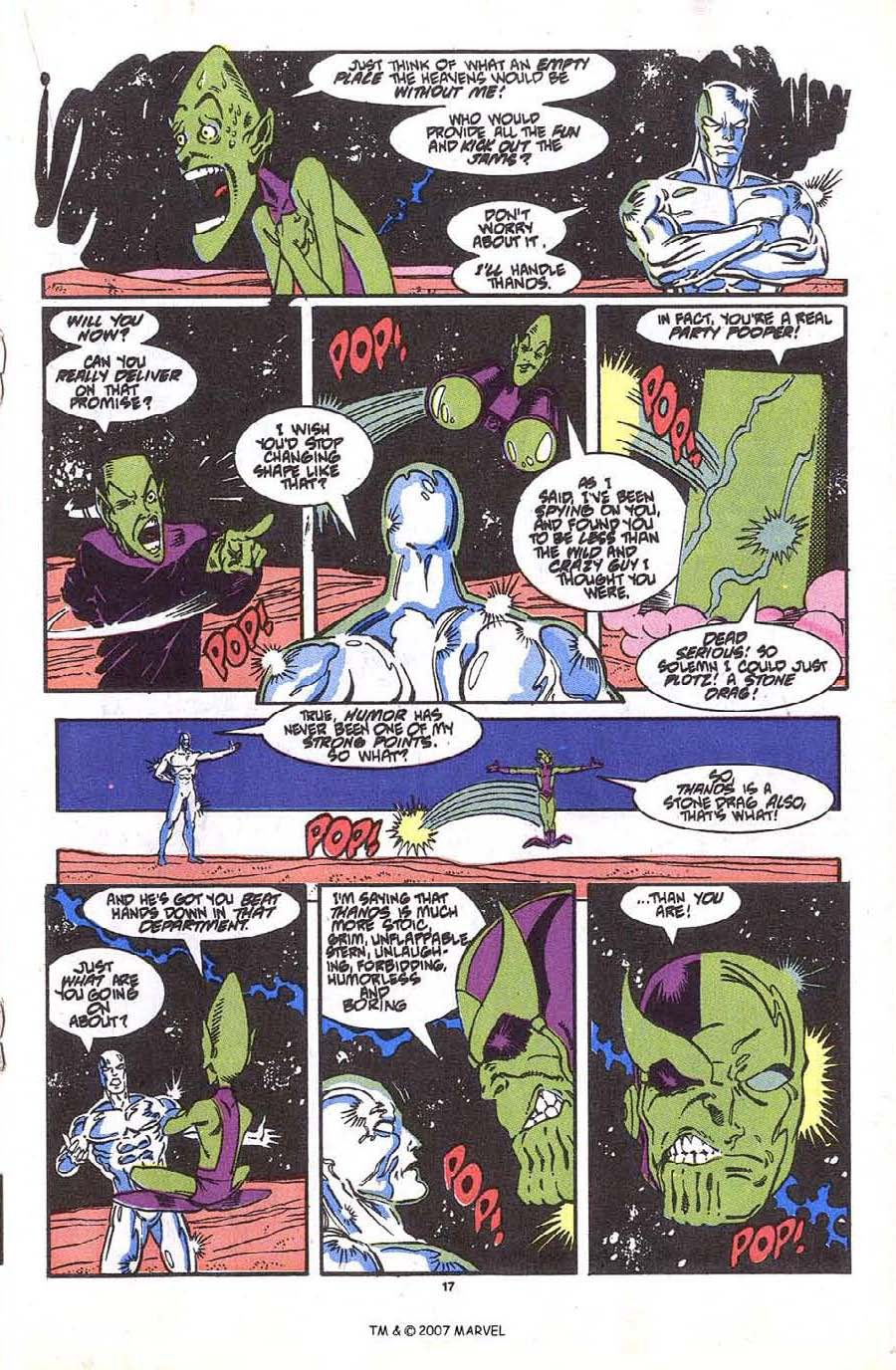 Read online Silver Surfer (1987) comic -  Issue #36 - 19