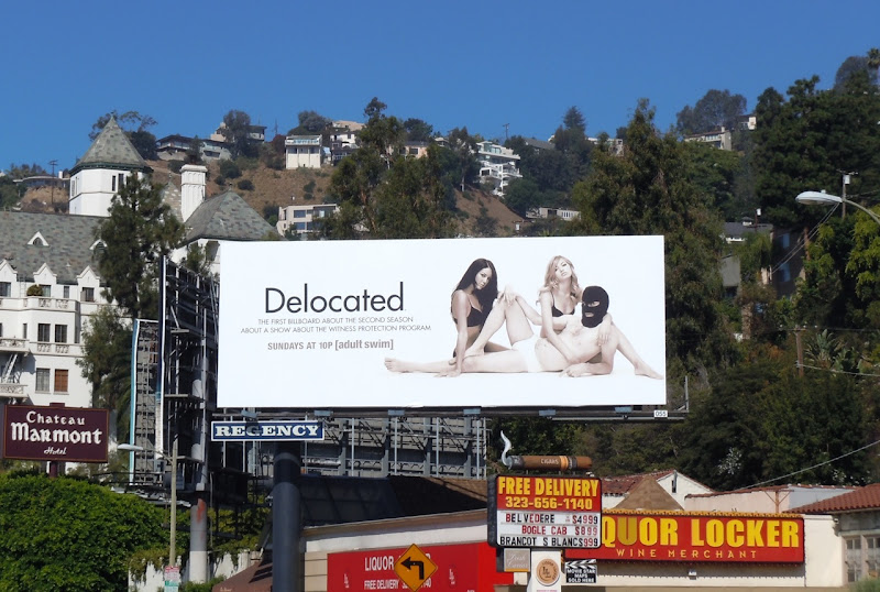 Delocated season 2 billboard
