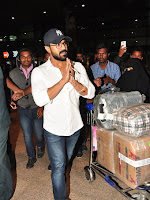 Ramcharan Spotted at Airport-cover-photo