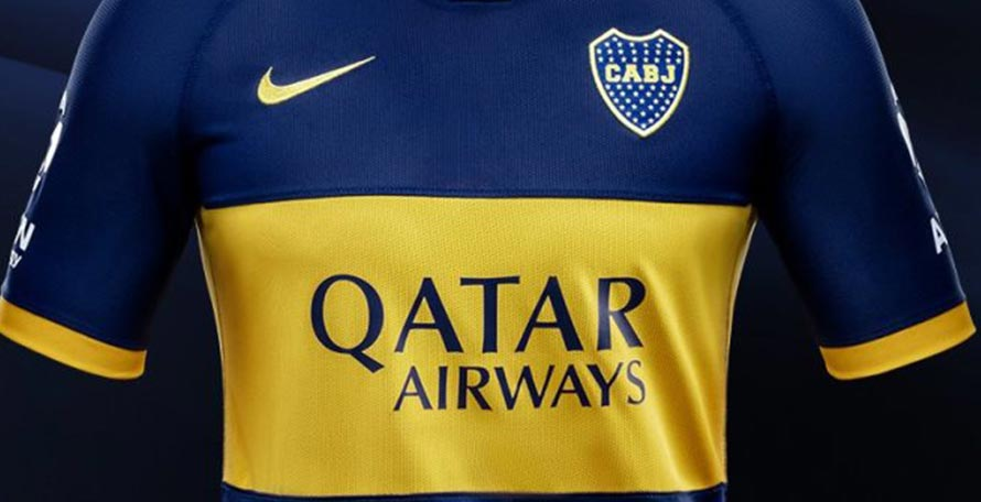 reputable site a8e54 376e6 Boca Juniors 19-20 Home Kit Released - Footy Headlines