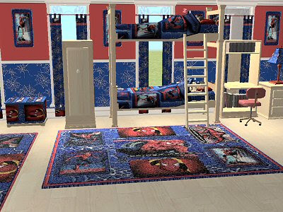 Attractive Spiderman Theme Bedroom Decorate Designs For
