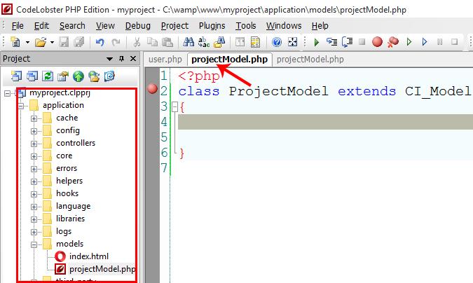 Creating Model Class in CodeIgniter
