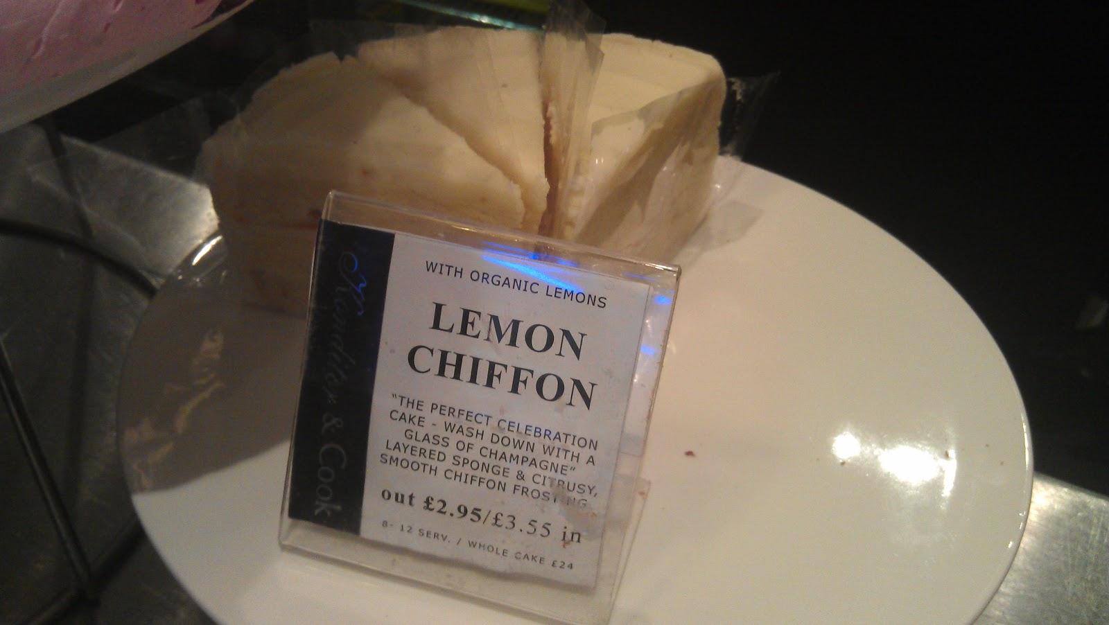 Konditor And Cook Lemon Chiffon Cake