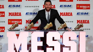 Messi Wins 5th Golden Shoe