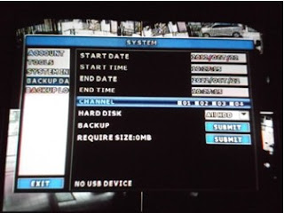Cara Backup CCTV Avtech - 4. pilih channel kamera