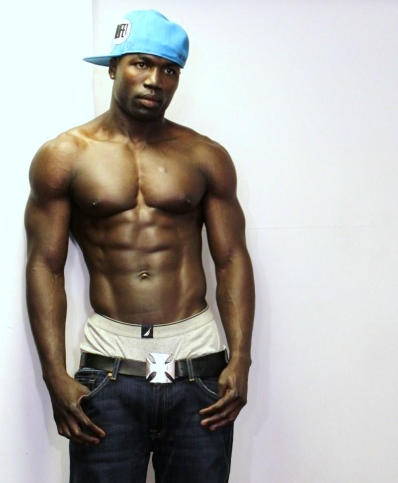 Hot Black Men T-5185