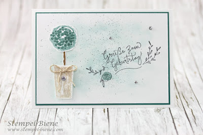 Happy Birthday mit Stampin' Up! Paint Play