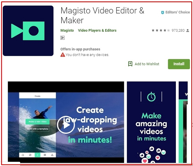 Software Edit Video Android Magisto Video Editor Maker Terbaik 2019