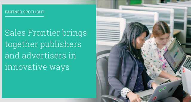 sales%2Bfrontier Google Certified Publishing Partner Spotlight: learn about how Ezoic and SalesFrontier boosted publisher's monetization
