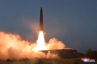 Ilustrasi Uji Coba Misil Korea Utara