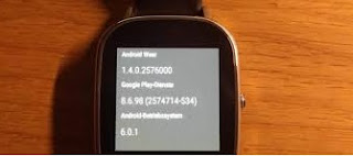 Android Wear 1.4 su Asus ZenWatch 2 18 mm
