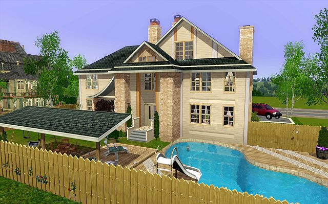 My sims 3 blog family house 32 by jarkad for A family house