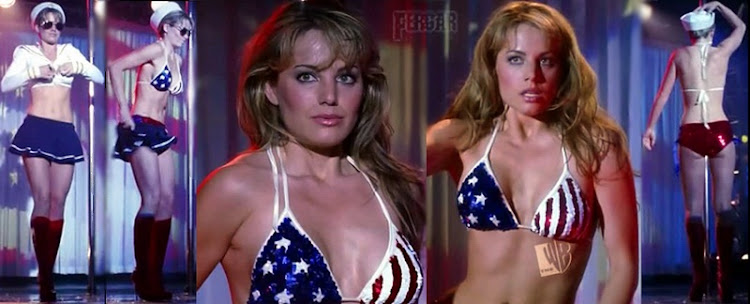 Erica Durance Video Striptease