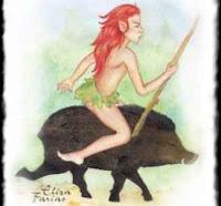 Персонажи бразильского фольклора - Курупира