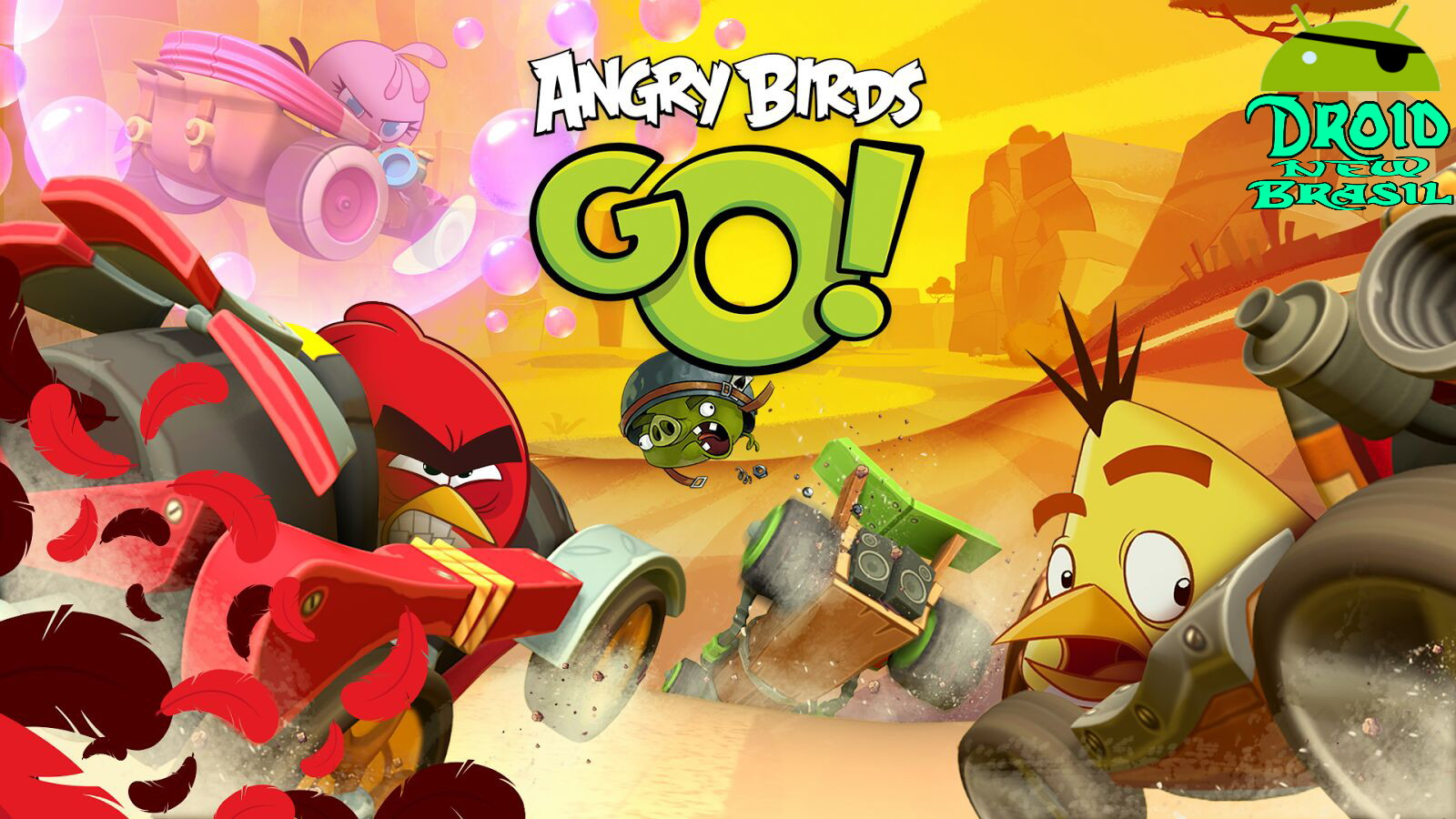 Download Angry Birds Go v2.7.1  [APK/DATA MOD]