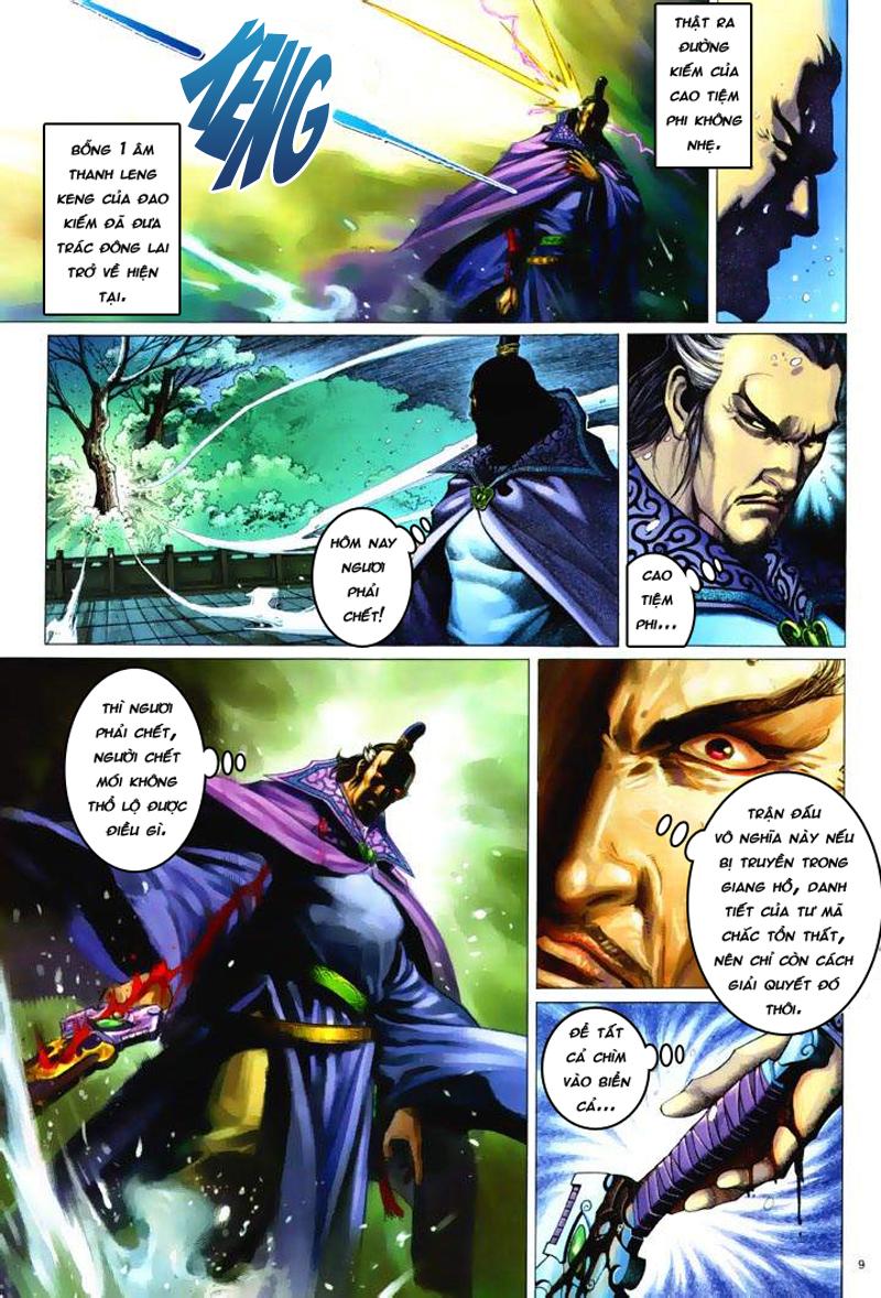 Anh hùng vô lệ Chap 6: Anh hùng hữu lệ trang 9