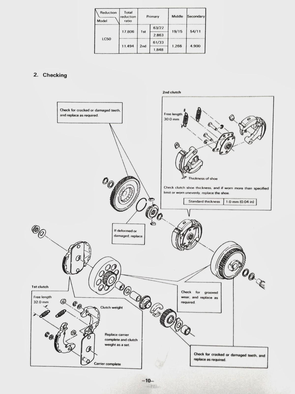Yamaha LC50: Yamaha LC50 Service Manual