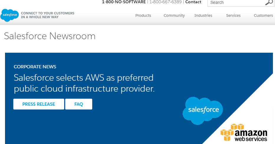 Converge! Network Digest: Salesforce Signs with AWS as