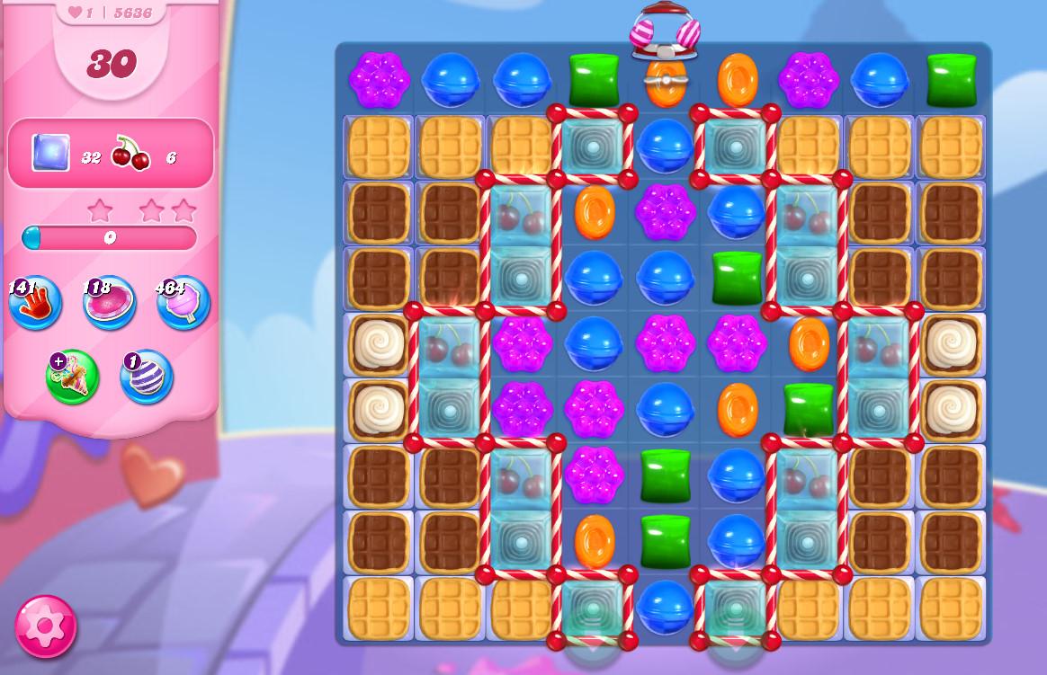Candy Crush Saga level 5636
