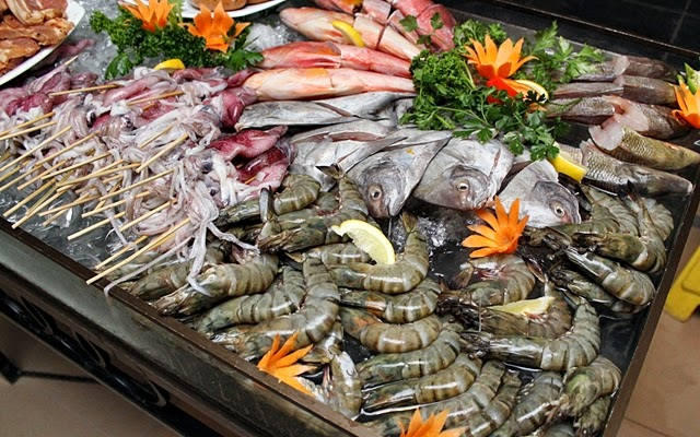 Seafood Barbecue Buffet at Bellevue Manila