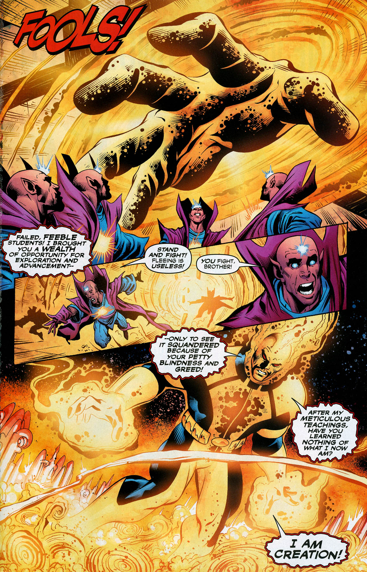 Read online Trinity (2008) comic -  Issue #20 - 29