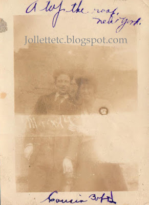 Robert Byrnes and Helen Killeen New York 1919  http://jollettetc.blogspot.com
