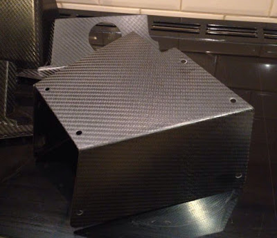 Carbon Pedal Box Cover for Caterham