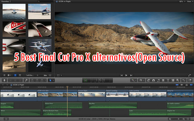 Final Cut pro x alternatives