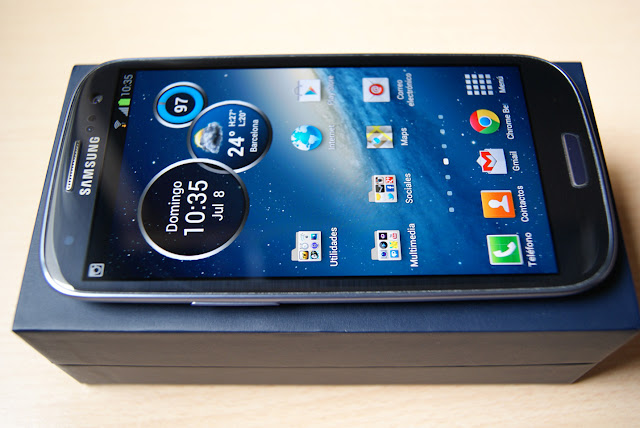 Galaxy S3 SIII azul Pebble Blue